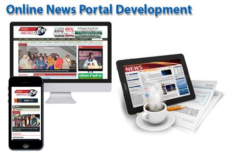 News Portal Website Development Company , News portal Website ...