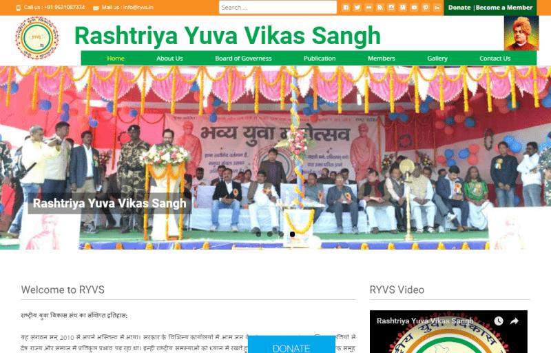 Rashtriya Yuva Vikas Sangh Ranchi Jharkhand India-min
